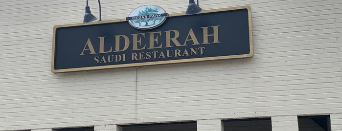 Aldeerah is one of the world's best restaurants.