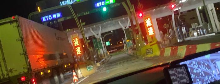 東松山IC is one of 関越自動車道.