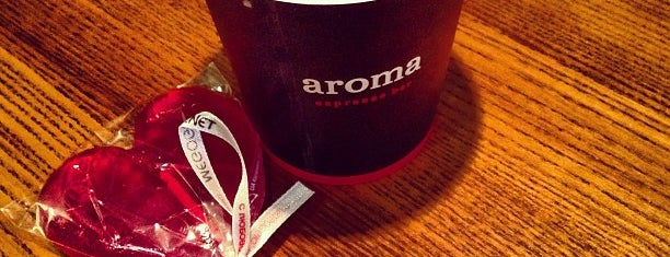 aroma espresso bar is one of Kyiv.