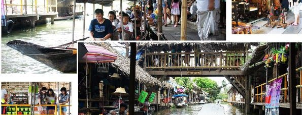 Klong Lat Mayom Floating Market is one of Things To Do.