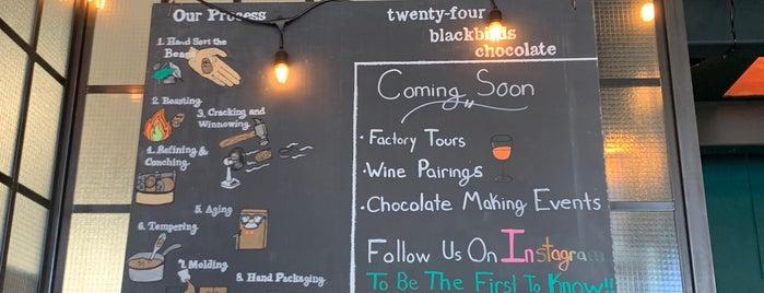 Twenty-Four Blackbirds Chocolates is one of Santa Barbara.