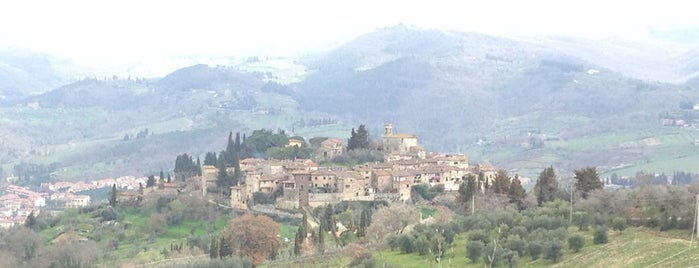 Castello di Montefioralle is one of Italy.