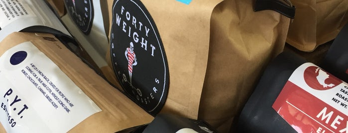 Forty Weight Coffee Roasters is one of Finger lakes.