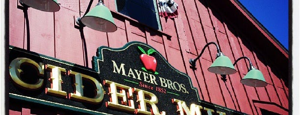 Mayer Bros. Cider Mill is one of Buffalo.