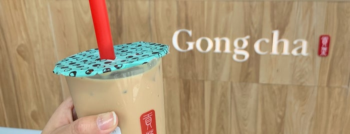 Gong Cha is one of Bubble Tea.