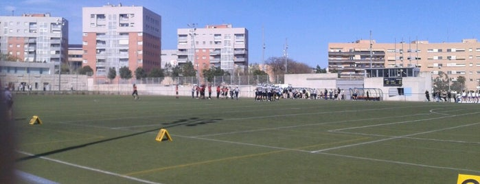 Camp de Futbol de Montigalà is one of Instalaciones Deportivas / Esports.