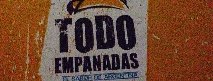 Todo Empanadas is one of Locais salvos de Melissa.