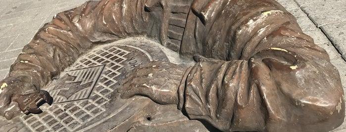 Памятник Сантехнику is one of Лучший Бердянск - проект Berdyansk.Best.