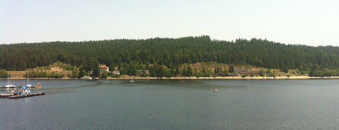 Staumauer Schluchsee is one of Dieterさんのお気に入りスポット.