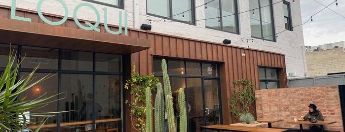Loqui is one of Brandon // LA – Bars+Coffee.