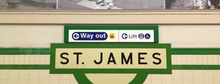 St James Station is one of Sydney Train Stations Watchlist.