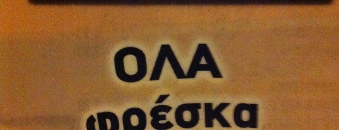Βασίλης - Πικάντικη Στοά is one of maria : понравившиеся места.
