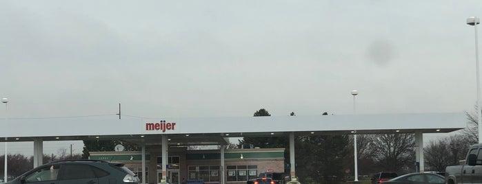 Meijer Fuel Station is one of Josh : понравившиеся места.