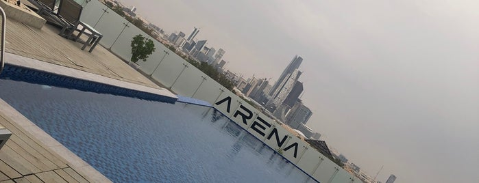 ARENA is one of Mansourさんのお気に入りスポット.