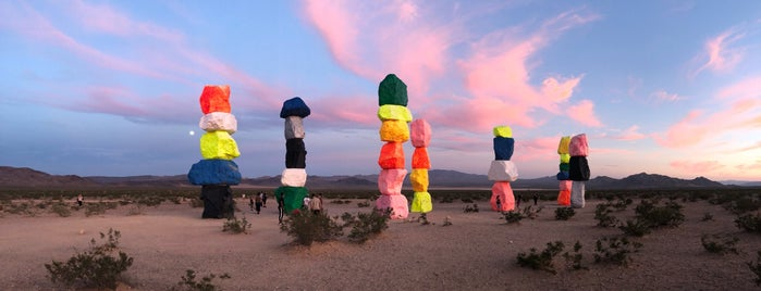Seven Magic Mountains is one of Vegas.