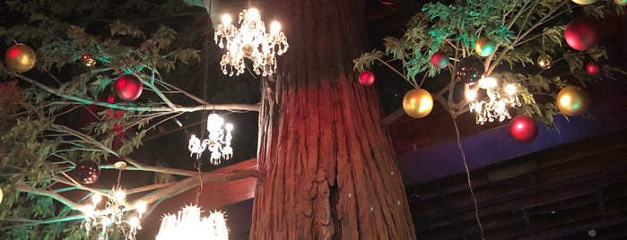 The Gothic Bar at Clifton's Cafeteria is one of Posti che sono piaciuti a Shawn.