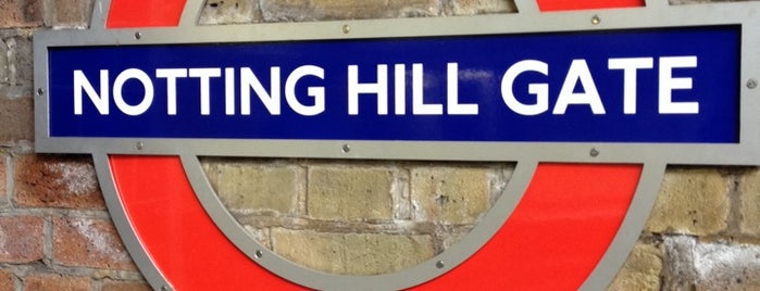 Notting Hill Gate Station Stop D is one of UK.