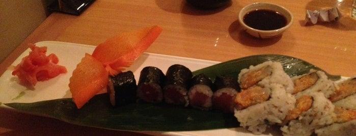 Hamachi Sushi is one of Bento Badge.