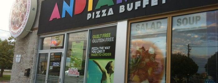 Mangiamo Pizza Buffet is one of Josh 님이 저장한 장소.