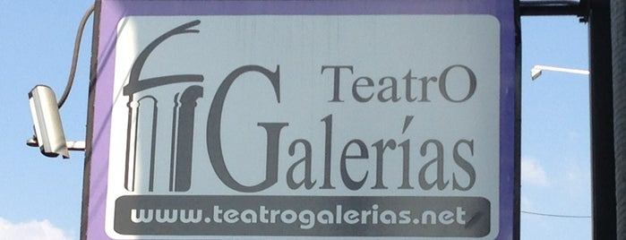 Teatro Galerías is one of Lieux qui ont plu à Cristina.