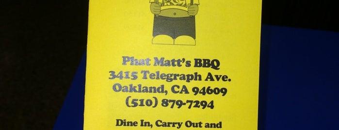 Phat Matt's BBQ is one of East Bay Bites.