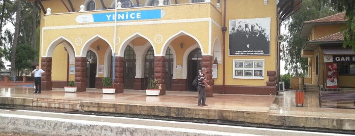 Yenice Tren İstasyonu is one of Lugares favoritos de Sezgin.