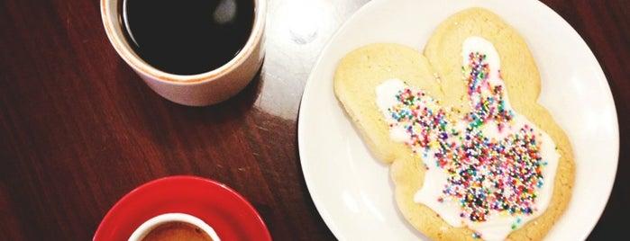 Benelux Coffee is one of RDU Baton - Raleigh Favorites.