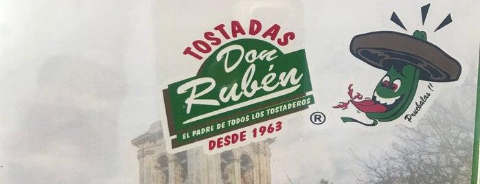 Tostadas Don Ruben is one of Fernanda 님이 저장한 장소.