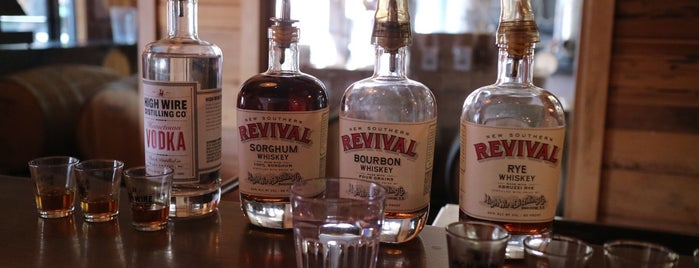 High Wire Distilling is one of Charleston.