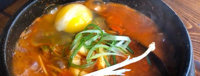 Hoya Korean Kitchen is one of Lugares guardados de Elena.