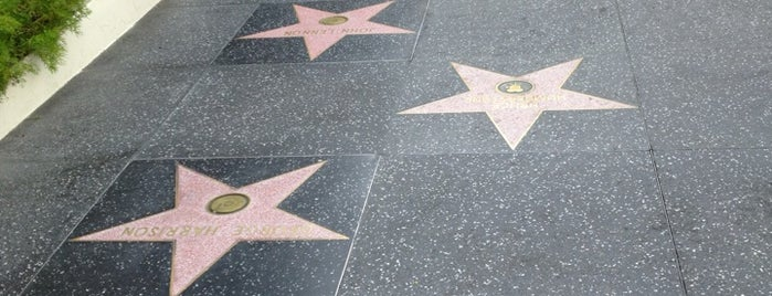 Hollywood Walk of Fame is one of Pavlos list.