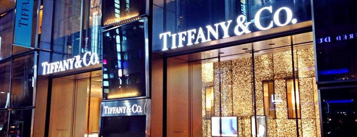 Tiffany & Co. is one of bldg..