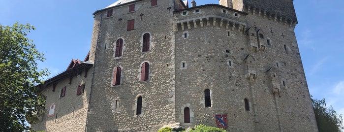 Château de Menthon-Saint-Bernard is one of Tempat yang Disukai Anthony.