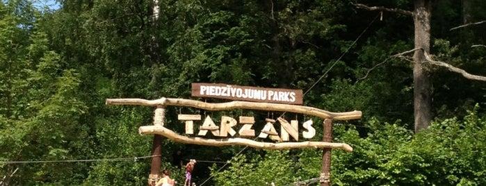 Tarzāns is one of Orte, die Sven gefallen.