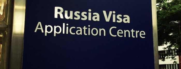 Russia Visa Application Centre is one of Posti che sono piaciuti a Jåck.