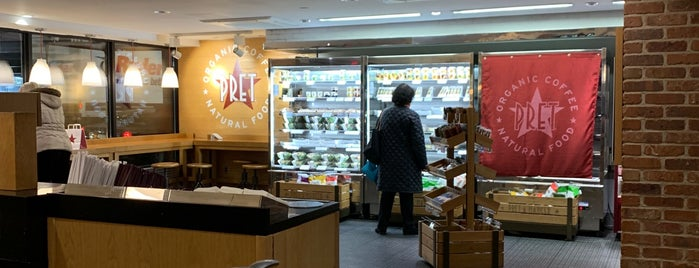 Pret A Manger is one of Grand Central Hunger.