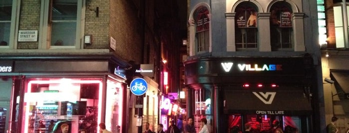 Village is one of BarChick's Best Gay Bars.