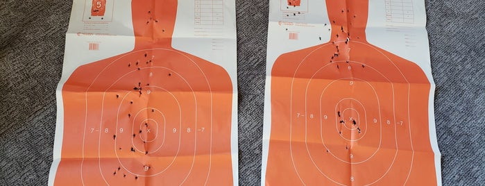Sharp Shooting Indoor Range & Gun Shop is one of Mike : понравившиеся места.