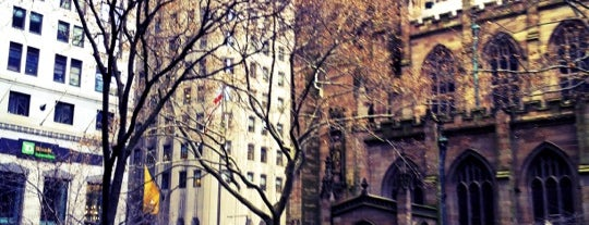 Trinity Church is one of NYC to do.