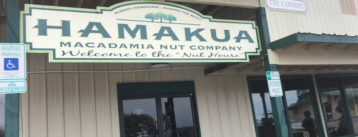 Hamakua Macadamia Nut Company is one of Landa'nın Beğendiği Mekanlar.