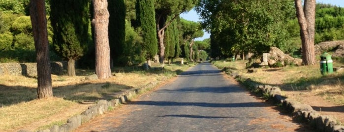 Via Appia Antica is one of Roma'15.