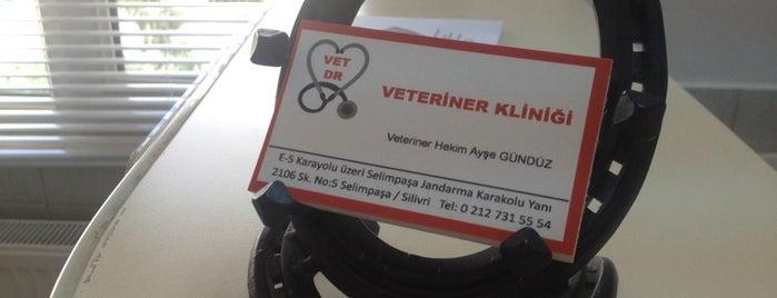 Vet Dr. Veteriner Kliniği is one of Locais curtidos por Elif.