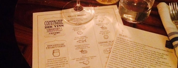 """La Compagnie des Vins Surnaturels is one of """"Oh, I love New York""""."""