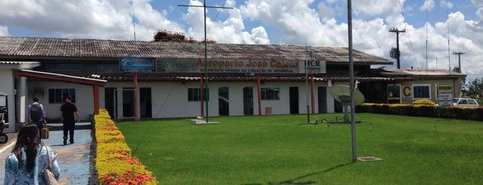 Aeroporto de Ji-Paraná (JPR) is one of Aeroportos do Brasil.