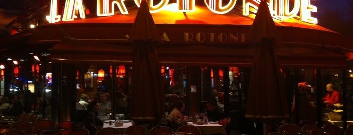 La Rotonde is one of Paris.