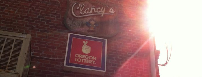 Clancy's is one of OREGON.