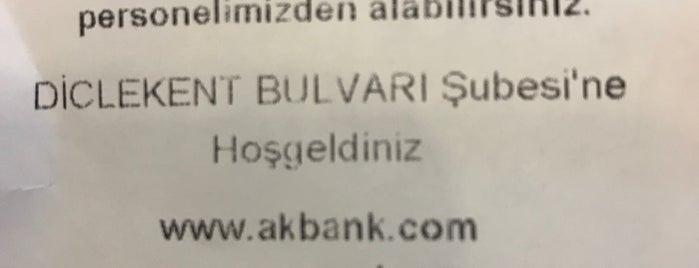 Akbank is one of Mete'nin Beğendiği Mekanlar.