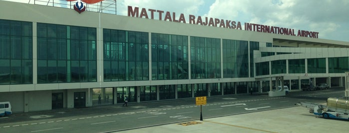 Mattala Rajapaksa International Airport is one of Destinations.