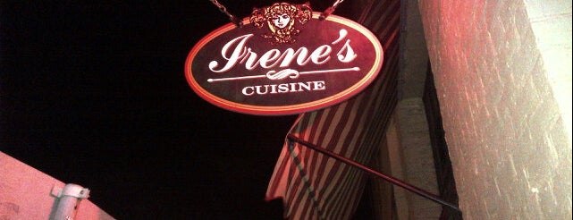 Irene's is one of Going Back Soon.