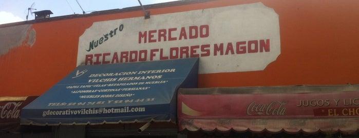 Mercado Ricardo Flores Magon is one of Santiago Argüero 님이 좋아한 장소.